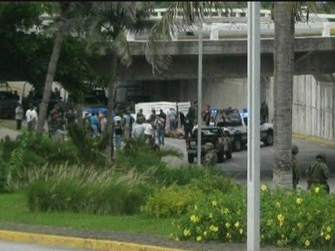 Dozens of dead bodies found under a bridge in Veracruz, Mexico