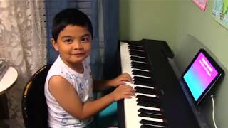 """6-year-old Renzo Plays """"See You Again"""" on the Piano with Simply Piano by JoyTunes"""