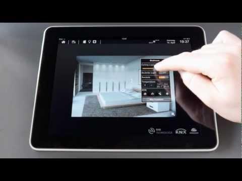 eibPort 3 Cube Vision on iPad (Light+Building 2012 #1 of 3)