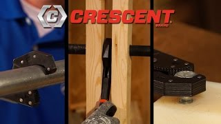"""Crescent® 12"""" Self-Adjusting Pipe Wrench"""