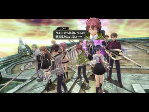 【PS Vita】Tokyo Xanadu 東京ザナドゥ BOSS 夕闇ノ落し子戦