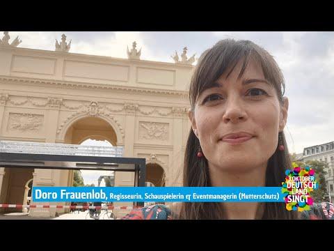 Videogruß unserer Eventmanagerin im Mutterschutz, Doro Frauenlob!