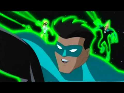 Justice League Unlimited - Kyle Rayner Appearance