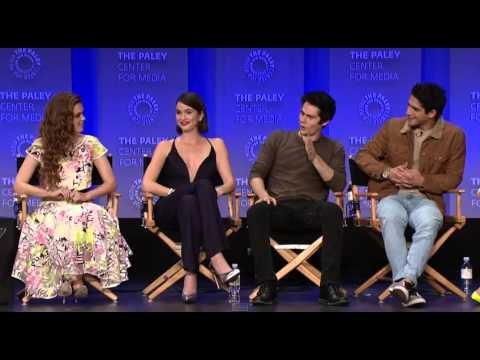 Teen Wolf cast talks about Stiles and Lydia's relationship (Paleyfest)