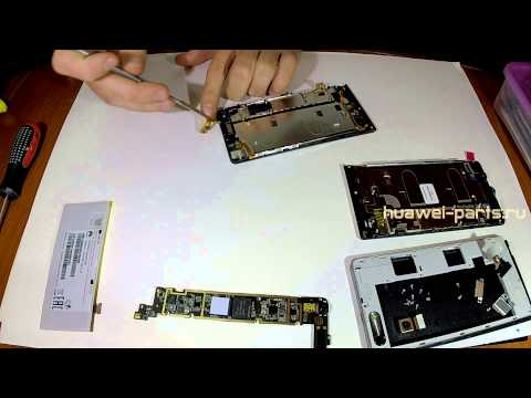 Замена дисплея и как разобрать Huawei G6 / how to disassemble Huawei G6/Cambiar pantalla lcd