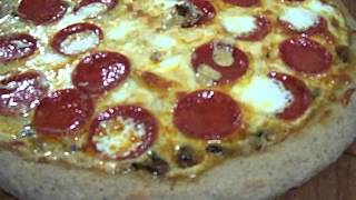 Alfredo Sausage Mushroom Pizza 3/3 Chef John The Ghetto Gourmet Show