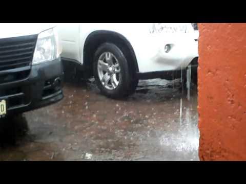 Rain in Xochimilco