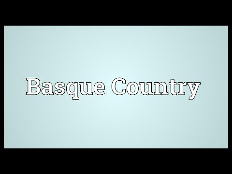 Basque Country Meaning