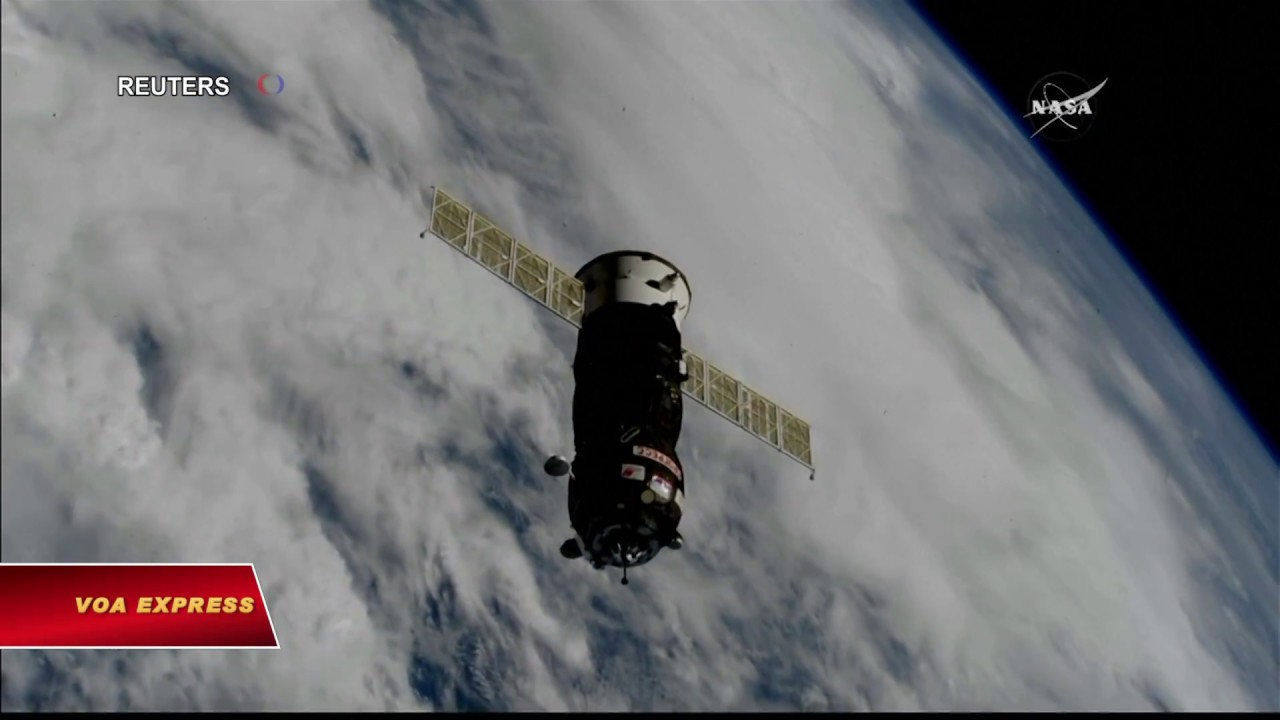 Tàu vận tải vũ trụ Nga làm nên lịch sử (VOA)