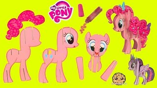create build a 3d my little pony pinkie pie mlp craft kit cookieswirlc video