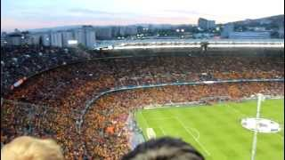 fans view barcelona vs chelsea 24 04 12 camp nou hd