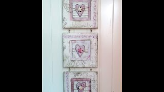 Shabby Chic Wall Hanging Tutorial