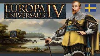 Europa Universalis IV Швеция Sweden is not overpowered! 01 (DLC Rule Britannia EU4)