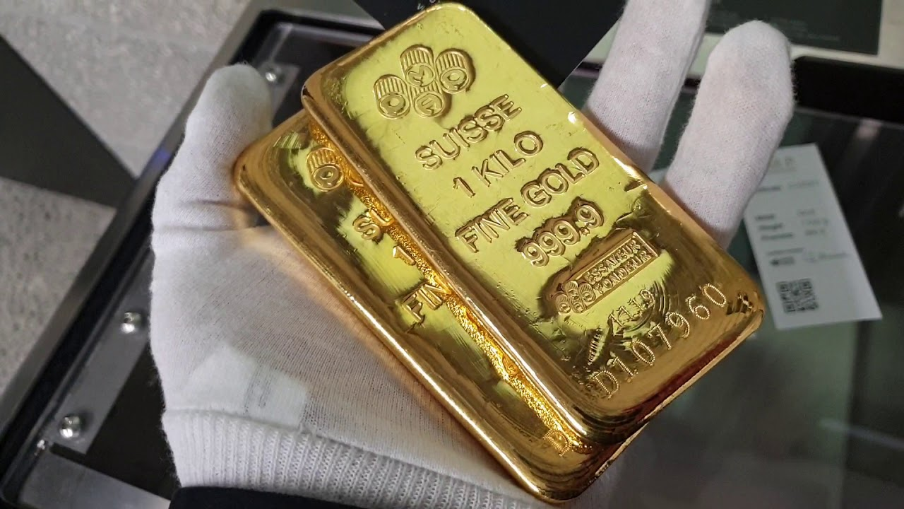 HD | 1KG PAMP SUISSE GOLD BARS 💘 - YouTube