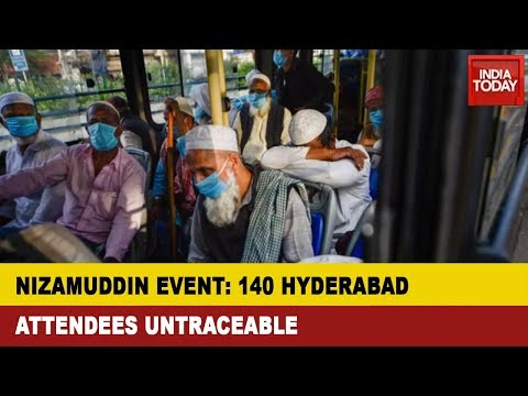 COVID-19 Outbreak: Over 140 Nizamuddin Event Attendees From Hyderabad Untraceable