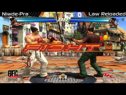 "Gamer Clash II - Tekken Tag 2 Gran Final: Manuel ""Law Reloaded"" (3) Vs. Edwin ""Niwde"" (1)"