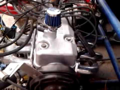 Roketa GK-25 800cc Huahai 3 cylinder motor Port/Polish Custom intake