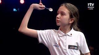 2018 Bauhaus Open Darts Girls Final Klochek vs  Rietbergen
