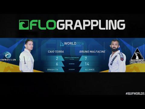 Bruno Malfacine VS Caio Terra / World Championship 2016