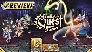 SteamWorld Quest: Hand of Gilgamech - REVIEW   Taking a Card to a Dragon Fight (Video Game Video Review)