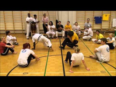Roda at the event 25 years of Capoeira in Finland part 5