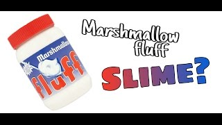 DIY MARSHMALLOW FLUFF SLIME? (WITHOUT BORAX!) Super easy!