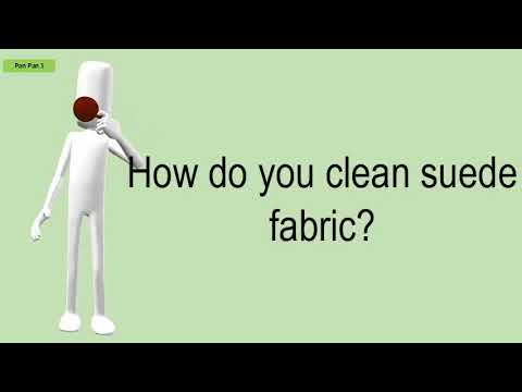 How Do You Clean Suede Fabric?