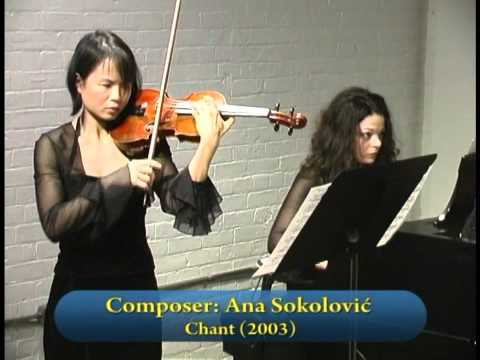Les AMIS Concerts: Lynn Kuo, violin; Marianna Humetska, piano; Rachel Mercer, cello. Part 1of 2
