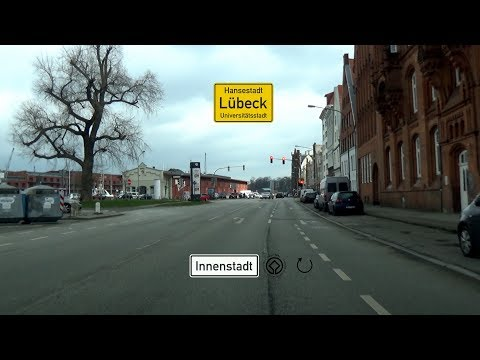 🇩 Lübeck: Halbrund um Altstadt (2x)