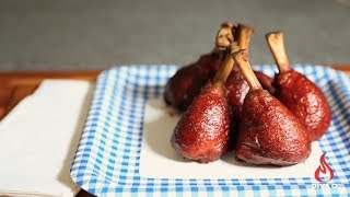 Diva Q's Sweet & Sassy Chicken Lollipops Recipe