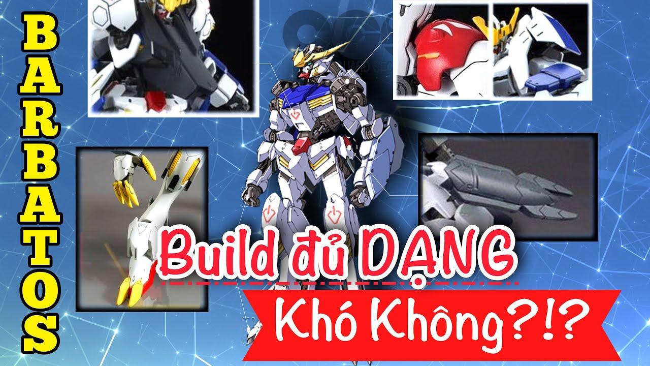 Thử thách Gundam: Cùng build đủ form Barbatos với nShop - Game & Gunpla