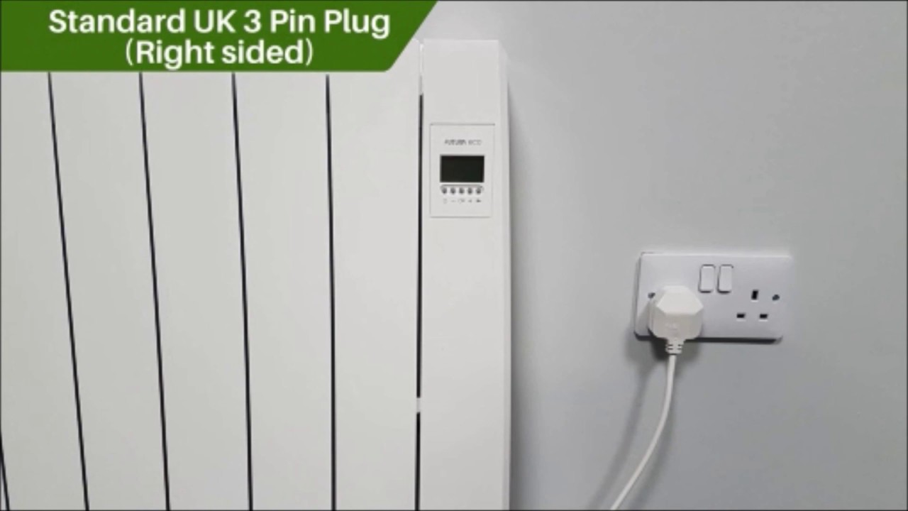 Futura Eco Electric Wall Mounted Ceramic Radiator Key