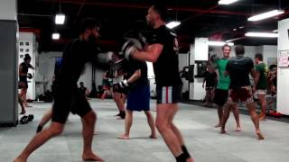"#2. Muay Thai in New York. Gym ""Coban"