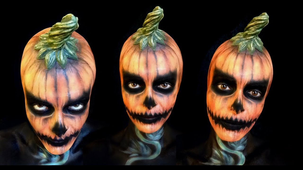 how to make a scary pumpkin