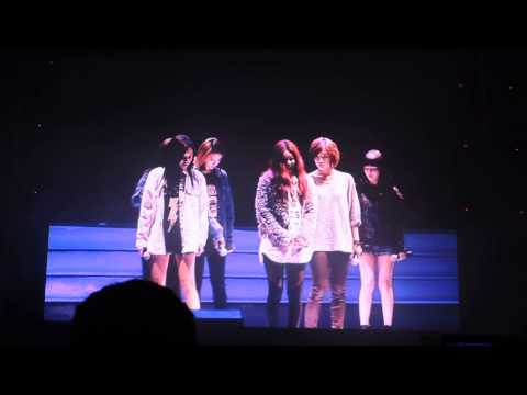 [131109] T-ara Beijing Fan Meeting - Intermission video clip