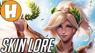 Overwatch Lore of The Skins - Winged Victory Mercy! | Hammeh