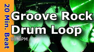 groove rock 90 bpm extended drum loop mix jimdooleynet