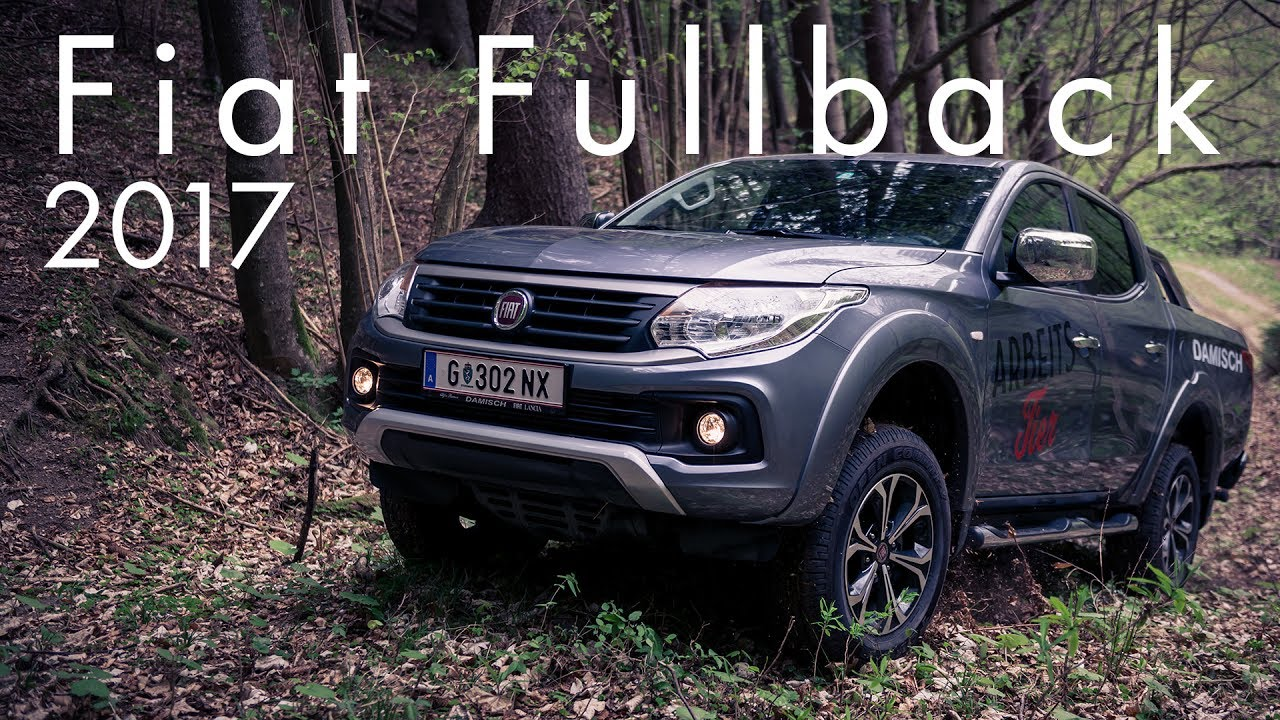 fiat fullback 2017 - youtube