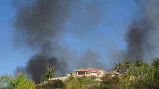El Cajon Fire East County San DIego CA I8 Evacuated ~ Dads house