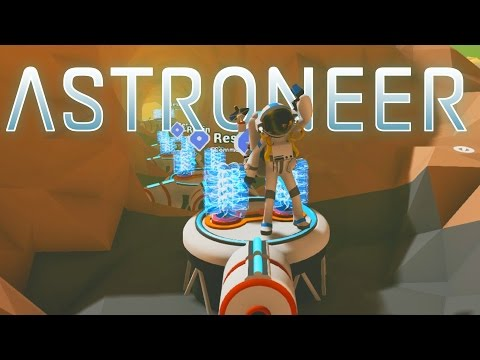 Save Astroneer - Ep. 7 - Underground Radiation Planet Base! - Let's Play Astroneer Gameplay Screenshots
