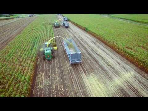 Silage Harvest on Kinnard Farms