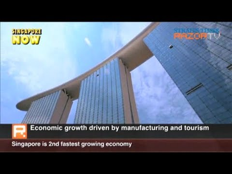 Singapore is world's second fastest growing economy