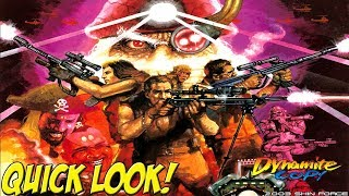 Dreamcast: Dynamite Cop! Quick Look - YoVideogames