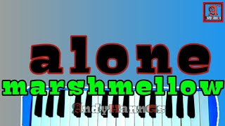 marshmellow alone   melodica cover