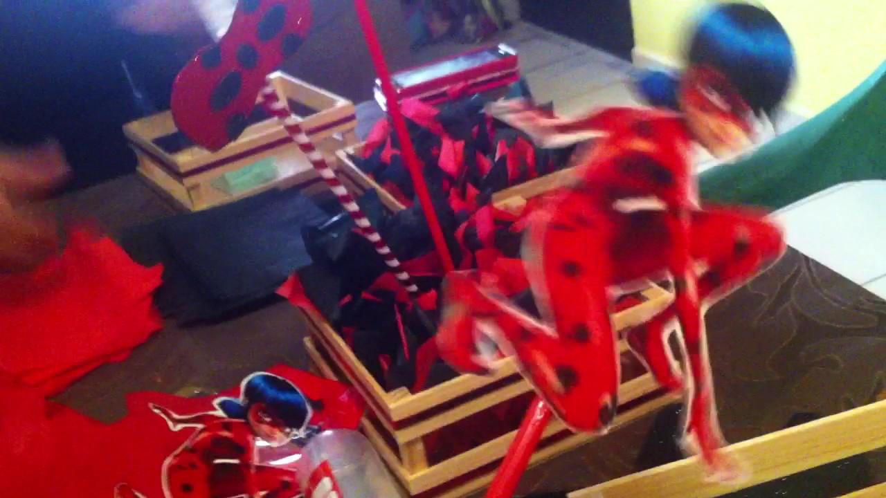Como hacer un centro de mesa ladybug youtube - Como hacer mesas ...
