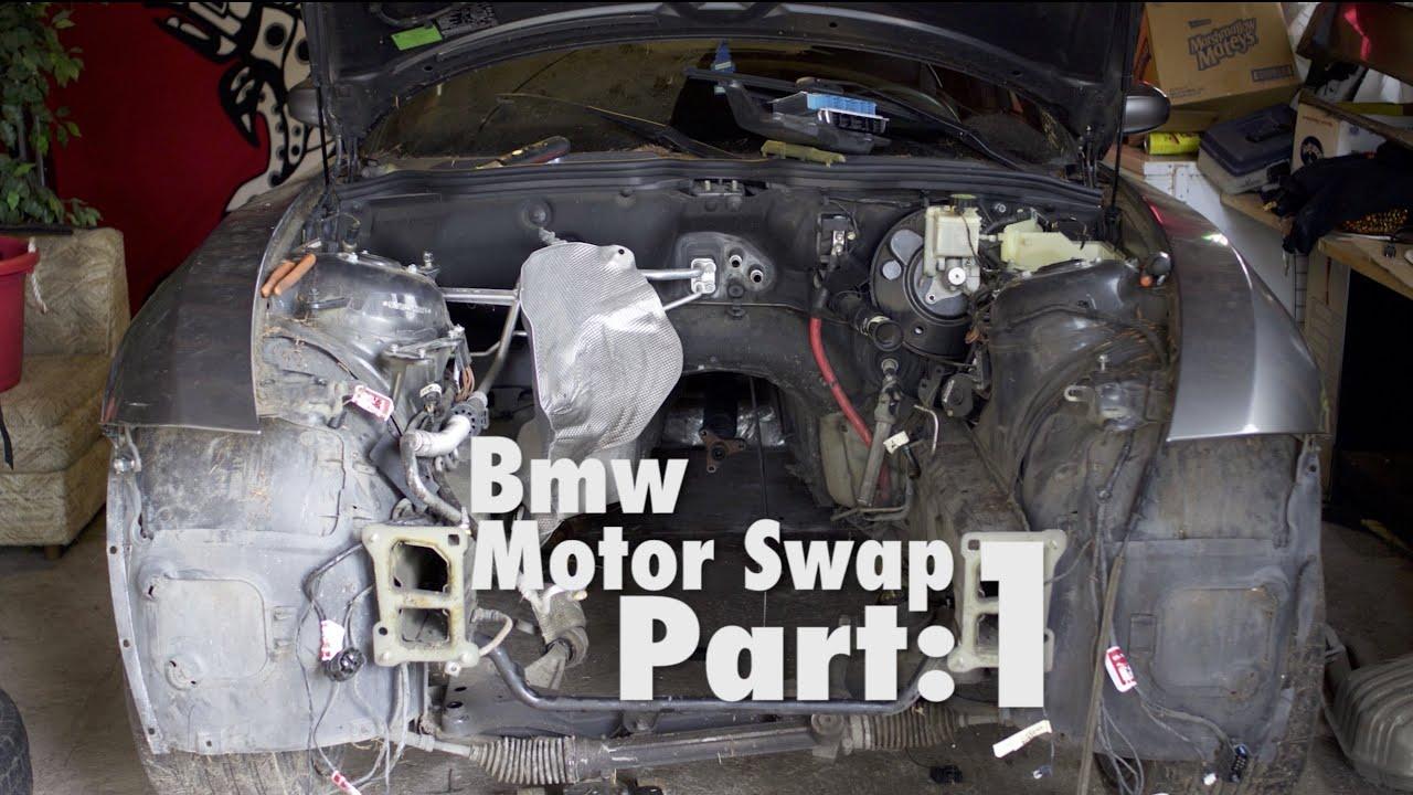 bmw e46 320i engine removal