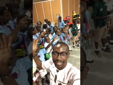 Lagooz Schools pupils excited at Daily Trust Newspaper Production Facility in Lagos    #Excursion