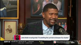 Jalen & Jacoby SURPRISED when Curry says Harden doesn't like playing hero ball | February 19,2019