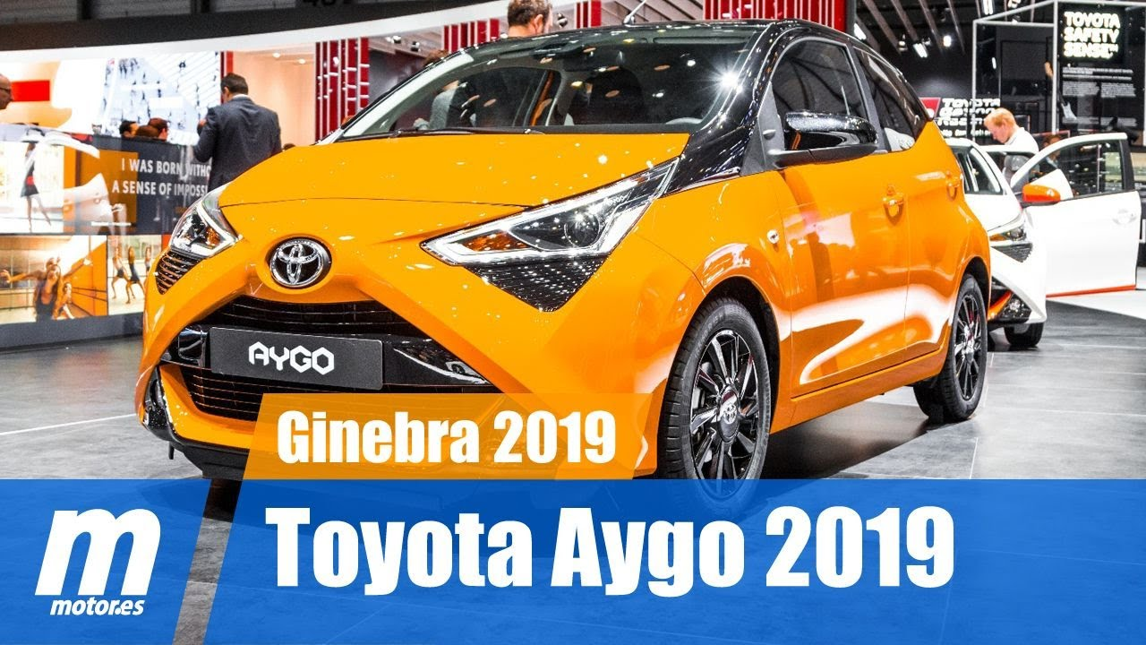 toyota aygo x cite 2019 presentaci n ginebra 2019 youtube. Black Bedroom Furniture Sets. Home Design Ideas