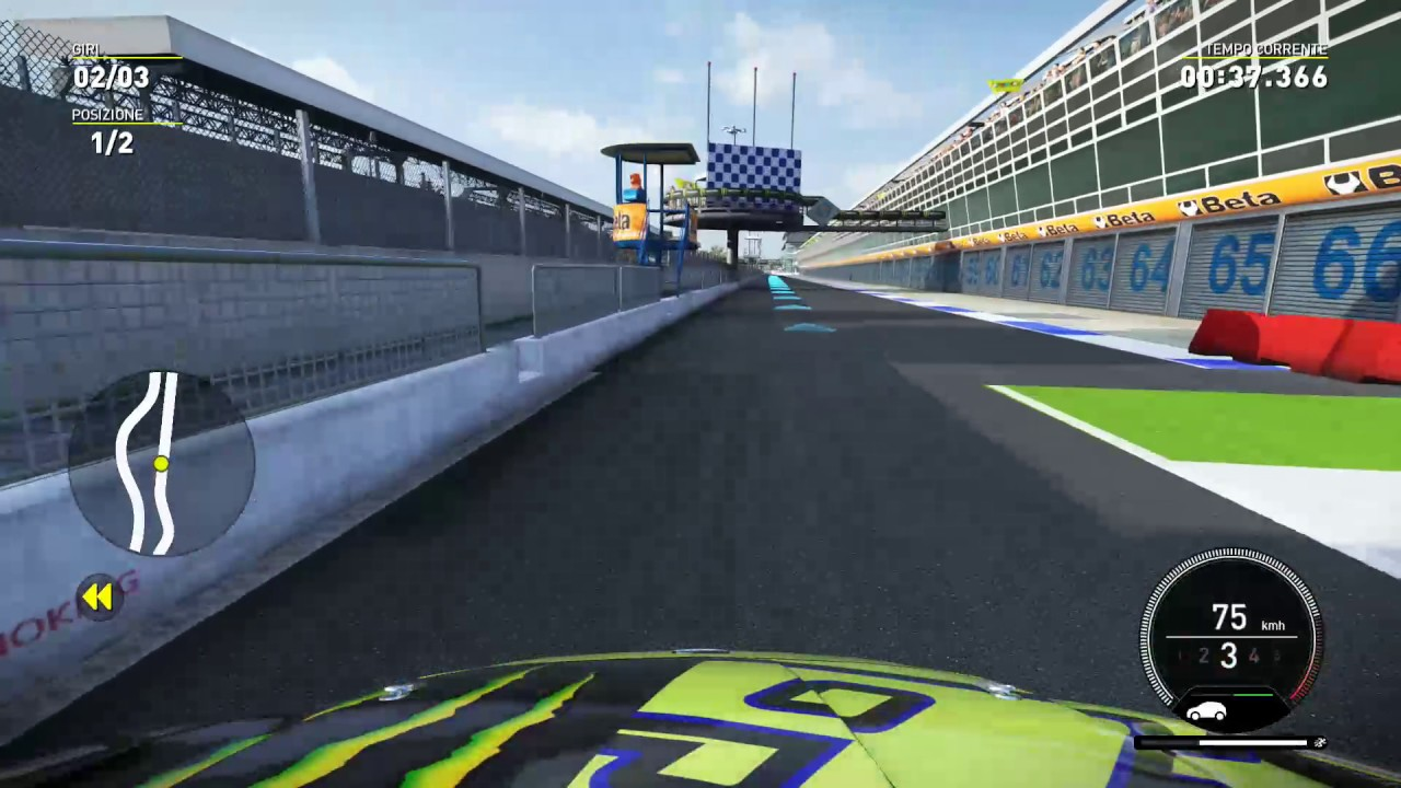 VALENTINO ROSSI the game - MONZA MASTER SHOW GAMEPLAY ...